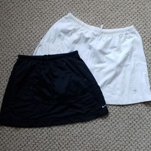 2 Nike tennis skirts